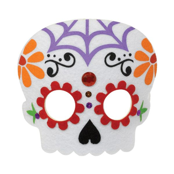 Day of the Dead Felt Masks